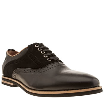 Peter Werth Black Nesbitt Saddle Shoes