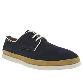 Mens Peter Werth Navy Caine Lace Shoes