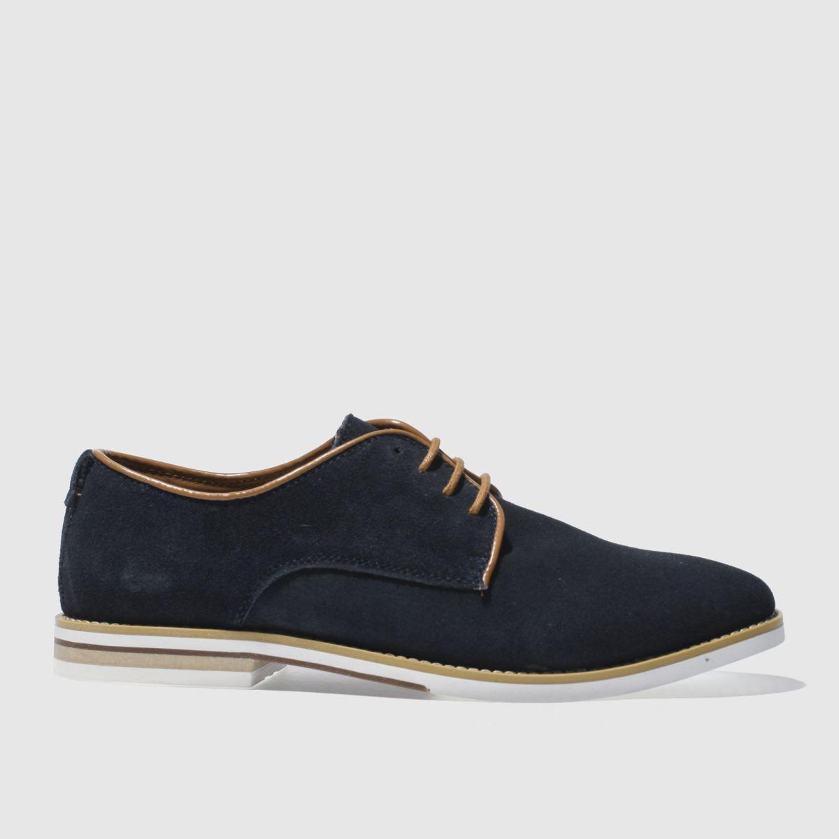 Peter Werth Peter Werth Navy Nesbitt Split Derby Shoes