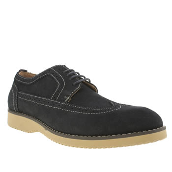 Mens Peter Werth Navy Turnmill Stitch Shoes