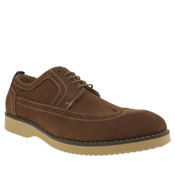 Mens Peter Werth Tan Turnmill Stitch Shoes