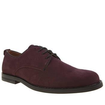 Peter Werth Burgundy Pegg Derby Shoes