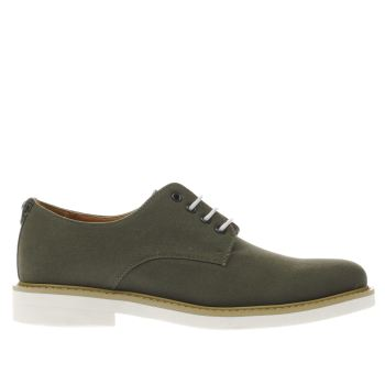 Peter Werth Khaki Pegg Derby Shoes