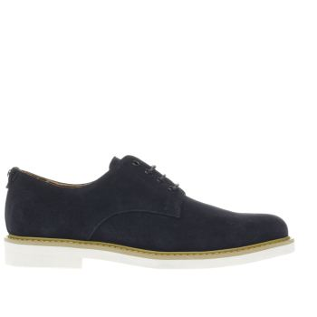 Peter Werth Navy Pegg Derby Mens Shoes