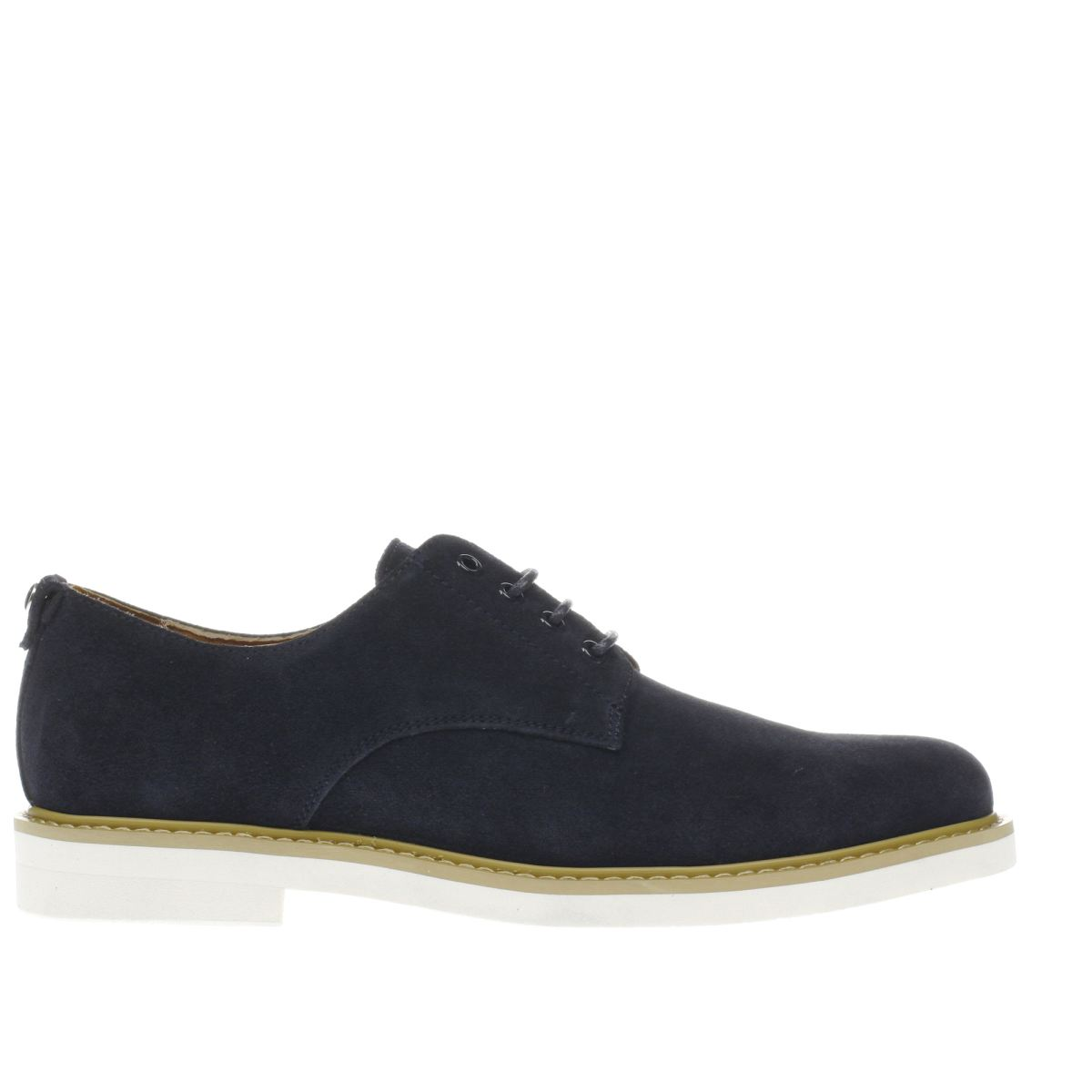 Peter Werth Peter Werth Navy Pegg Derby Shoes