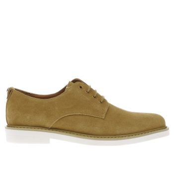 Peter Werth Tan Pegg Derby Shoes