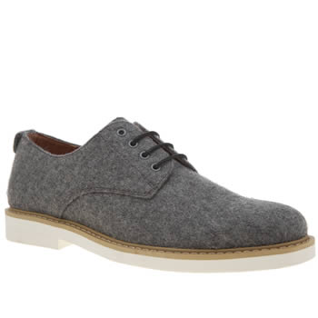 Peter Werth Light Grey Melton Derby Shoes