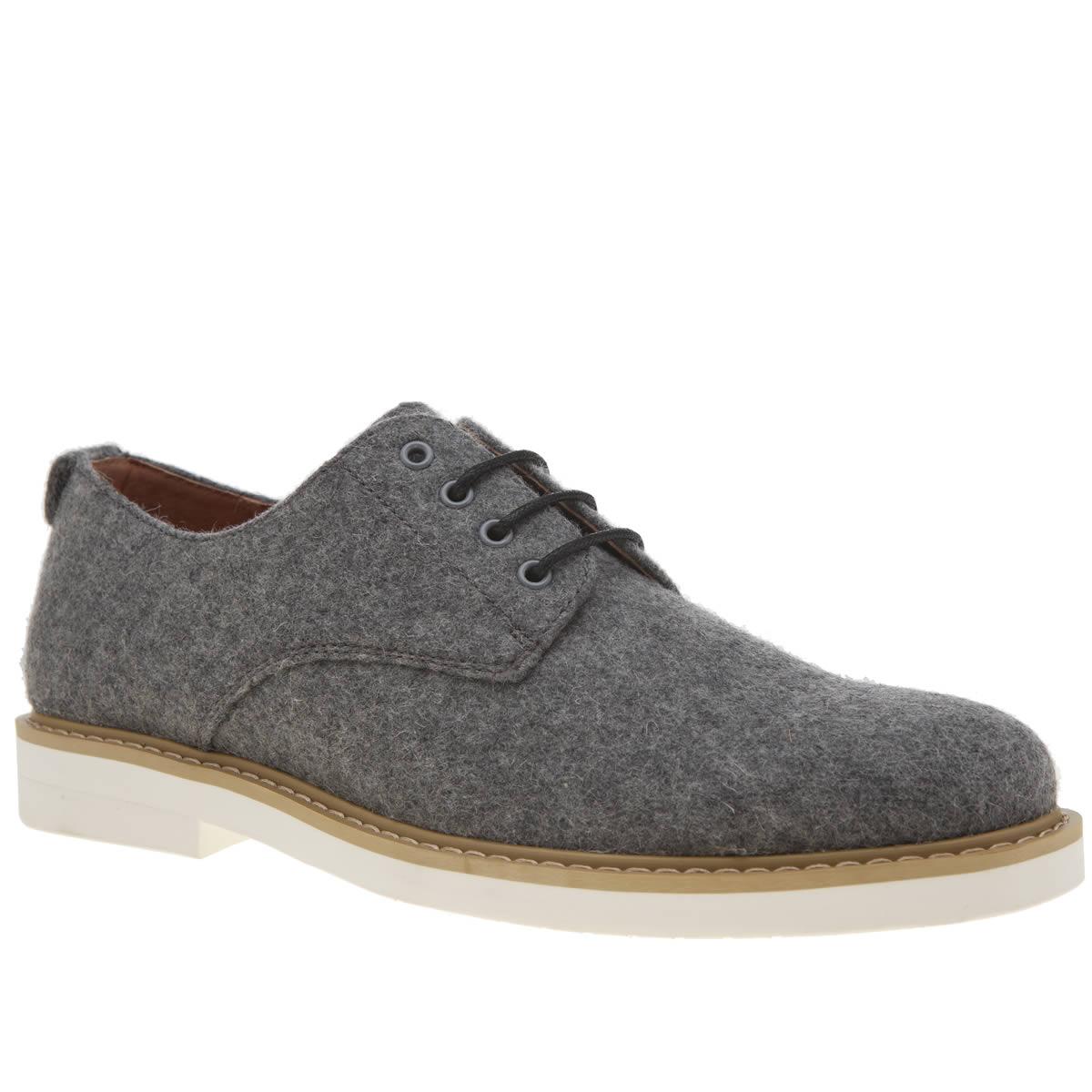 Peter Werth Peter Werth Light Grey Melton Derby Shoes