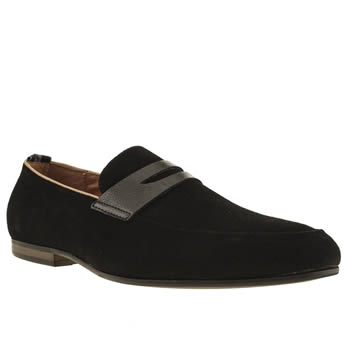 Mens Peter Werth Black Nesbitt Loafer Shoes
