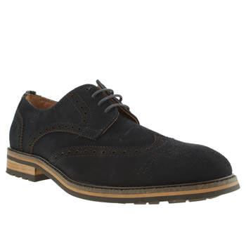 mens peter werth navy turnmill suede shoes
