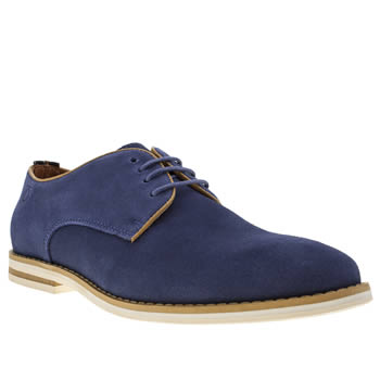 Mens Peter Werth Blue Nesbitt Ii Shoes