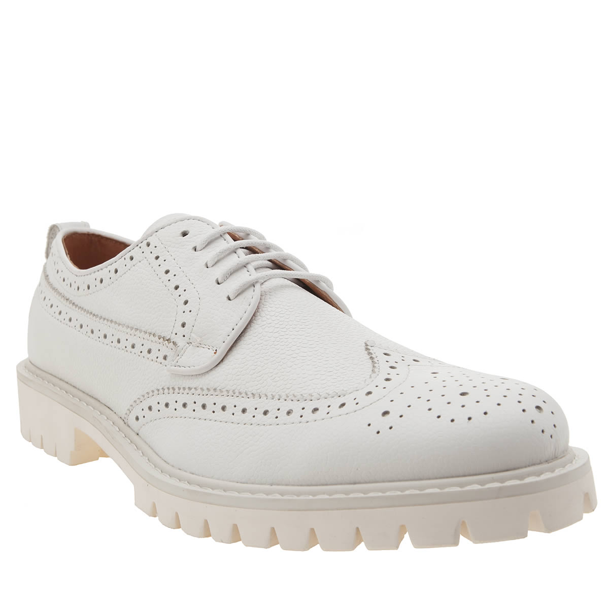 Peter Werth Peter Werth White Oldman Brogue Shoes