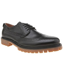Peter Werth Black Oldman Brogue Mens Shoes