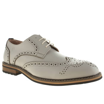 Peter Werth Light Grey Turnmill Brogue Shoes