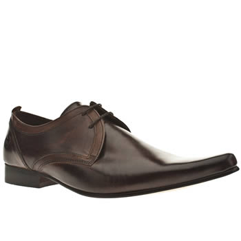 Mens Ikon Brown Stardust 2tone Gibson Shoes