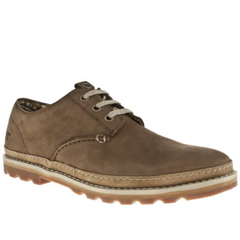 Caterpillar Brown Cormac Shoes
