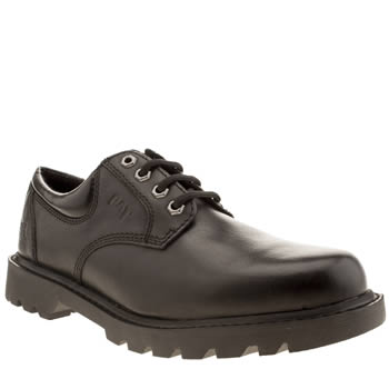 Mens Caterpillar Black Interchange Shoes