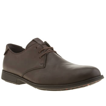 Camper Dark Brown Mil3 Gibson Shoes