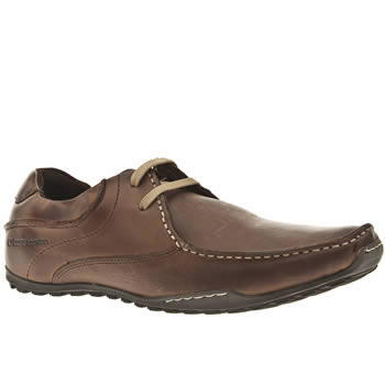 mens base london brown goliath asym lace shoes