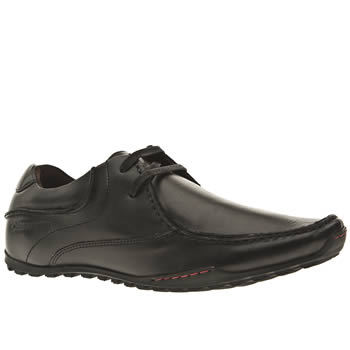 mens base london black base goliath lace shoes