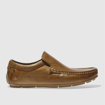 Mens Base London Tan Base Britain Loafer Shoes