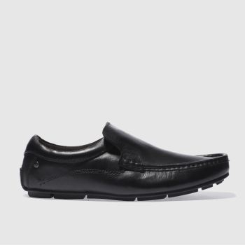 Mens Base London Black Britain Loafer Shoes