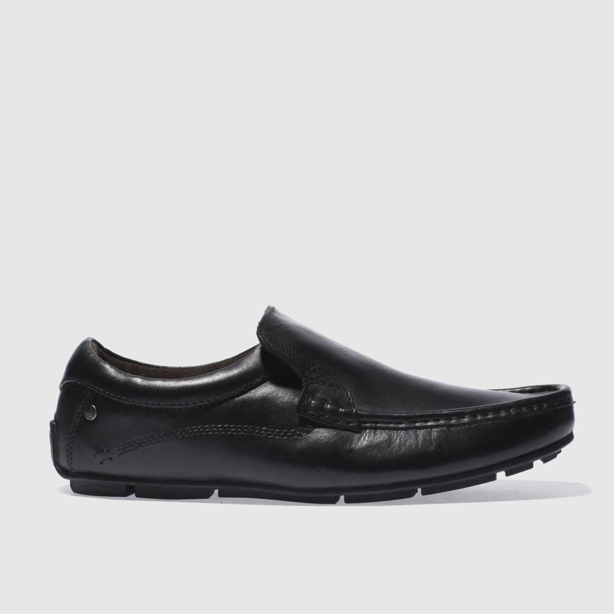 base london black britain loafer shoes