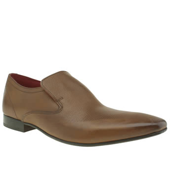 Base London Tan Tailor Slip Shoes