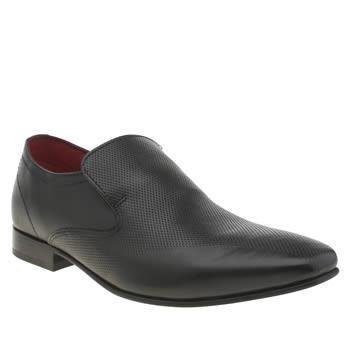 Base London Black Tailor Slip Shoes