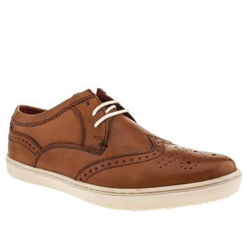 Base London Tan National Wing Cup Shoes