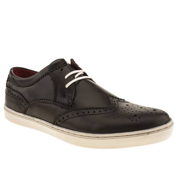mens base london black national wing shoes
