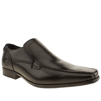 Base London Black Par Tram Shoes