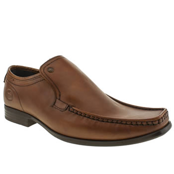 Mens Base London Tan Par Shoes