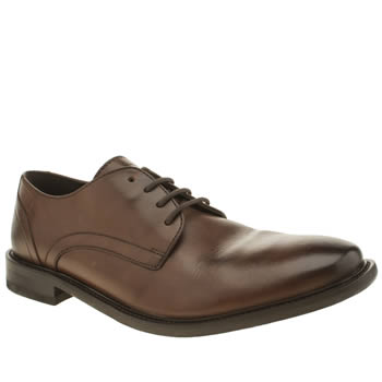 Mens Base London Brown Max Washed Gibson Shoes