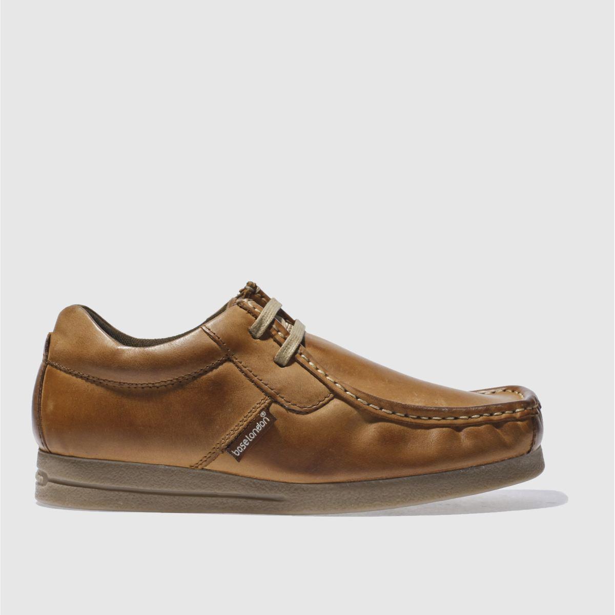 Base London Tan Vee 2 Tab Apr Shoes