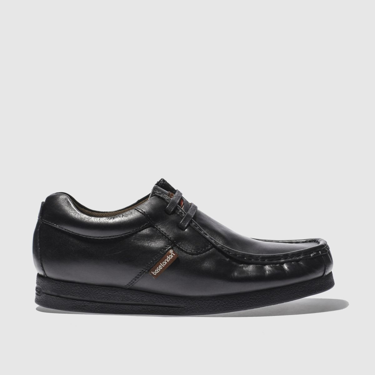 Base London Black Vee 2 Tab Apr Shoes