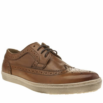 Base London Tan National Long Wing Shoes