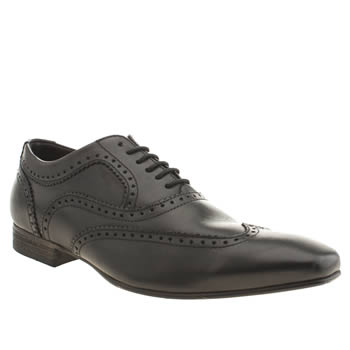 mens base london black spice wing oxford shoes