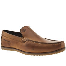 Tan Base London Call Plain Loafer