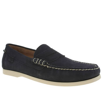 Polo Ralph Lauren Navy Bjorn Shoes