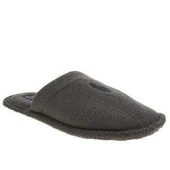 Mens Polo Ralph Lauren Grey Slipper Slippers