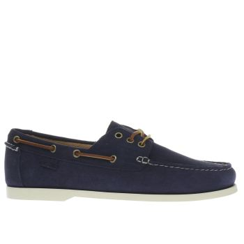 Polo Ralph Lauren Navy & Stone Bienne Ii Shoes