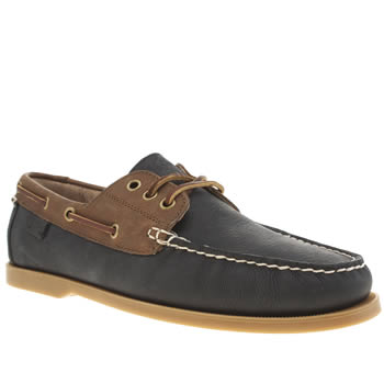 Polo Ralph Lauren Brown & Navy Bienne Shoes