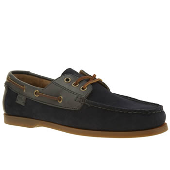 Polo Ralph Lauren Navy Bienne Mens Shoes