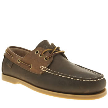 Mens Polo Ralph Lauren Dark Brown Bienne Shoes
