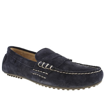 Mens Polo Ralph Lauren Navy Wes Shoes