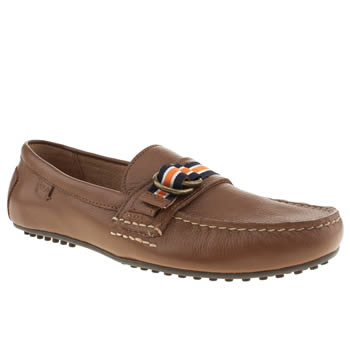 Mens Polo Ralph Lauren Tan Willem Shoes