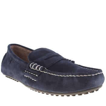 Mens Polo Ralph Lauren Navy Wes Too Shoes