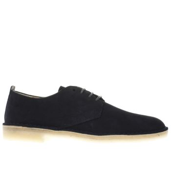 Clarks Originals Navy Clarks Desert London Mens Shoes
