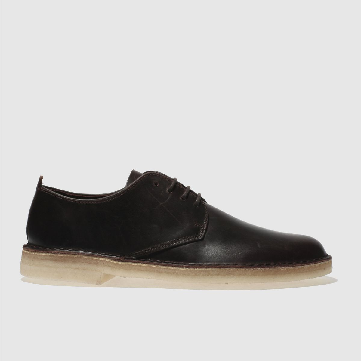 Clarks Originals Dark Brown Desert London Shoes